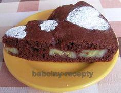 Perníkový koláč s banány | Babčiny recepty