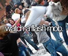 Watch a Flash Mob