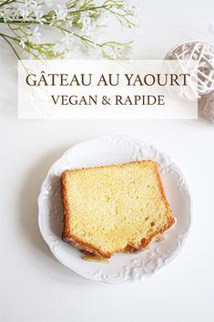 Vegan yogurt cake: vegan recipe, simple and quick - Vegan Recipes Vegan Dessert Recipes, Vegan Sweets, Vegan Recipes Easy, Sweet Recipes, Delicious Desserts, Yummy Food, Vegan Thermomix, Patisserie Vegan, Gateaux Vegan