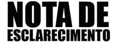 NONATO NOTÍCIAS: MINISTÉRIO PÚBLICO EMITE NOTA DE ESCLARECIMENTO SO...