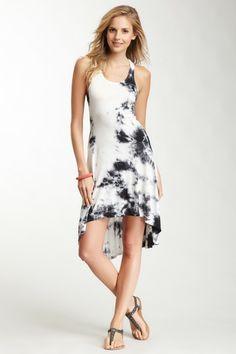 Tie-Dye Hi-Lo Dress by American Twist on @HauteLook