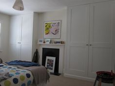 JAMES CARPENTRY | alcove cabinets | wardrobes | bookcases Wardrobes Bedroom Built In Wardrobe, Ikea Pax Wardrobe, Wardrobe Ideas, Alcove Cabinets, Bedroom Cupboards, Bedroom Pictures, Bedroom Pics, Bedroom Ideas, Black Fitted Wardrobes