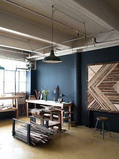 /\ /\ . Ariele Alasko   Home office   Work space