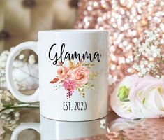 Personalised Name Mugs, Personalized Graduation Gifts, Graduation Gifts For Her, Funny Mugs, Funny Gifts, Fathers Day Mugs, Grandmother Gifts, Handmade Design, Custom Mugs