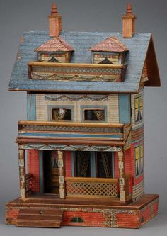 Bliss Doll House  Rick Maccione-Dollhouse Builder www.dollhousemansions.com