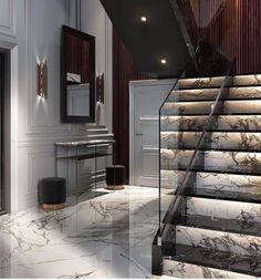 Home/Interior/Garden/Decoration Schöne Marmortreppe Abuse: Spotting Signs of Emotional Wear and Tear Home Stairs Design, Modern House Design, Staircase Interior Design, Decor Interior Design, Interior Decorating, Interior Garden, House Stairs, House Rooms, Interior Architecture