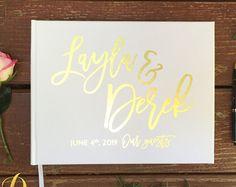 wedding guest book – Etsy DE