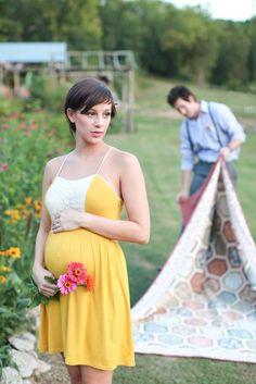 Ryan Bernal, sunflower maternity session, florals, nature, baby girl, Madison Creek Farm maternity session
