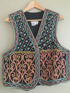 Vintage beaded and embroidered bohemian by WhatHappensInOctober