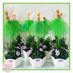 Ideas for Tinkerbell Party Tinkerbell Party Theme, Tinkerbell Fairies, Sofia The First Birthday Party, Fairy Birthday Party, Butterfly Garden Party, Peter Pan Party, Fairy Tea Parties, Ballerina Birthday, Partys