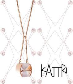 ©KATTRI - Hyperbola neckalce