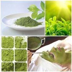Bí Quyết Làm Đẹp Da Sau Sinh Tại Nhà Bằng Trà Xanh: Bột trà xanh giàu vitamim E, B1, B6, C, K, E, canxi,... giúp dưỡng làn da đẹp mịn màng, trắng sáng tự nhiên