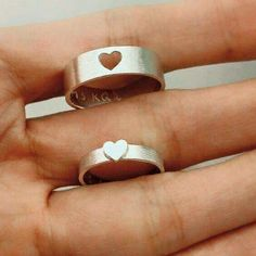 Promise rings for me and him