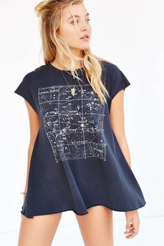 Future State Star Map Tee - Urban Outfitters