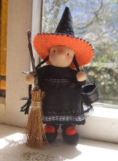 party witch by prairie.mouse, via Flickr