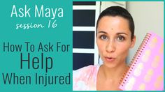 In Ask Maya 12 I'm answering an amazing question about flexibility. I know it& a hot topic after an injury and especially if the injury is a broken ankle. So this week I& explaining. Broken Ankle Recovery, Ask For Help, Physical Therapy, Hot Topic, Flexibility, Maya, How To Remove, Mindful, Hardware