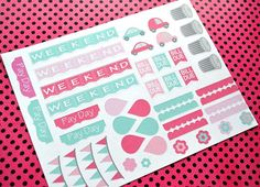 May Planner Sticker Kit by TwoKraftyChicks on Etsy