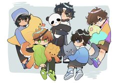 SnowNotTaken || practicing new things (@snowfl_exe) / Twitter Minecraft Fan Art, Dream Art, School Boy, Dream Team, Wall Collage, Cute Drawings, Memes, Cuddling, Kawaii