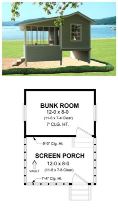 1000 images about coastal house plans on pinterest for Hunting camp house plans