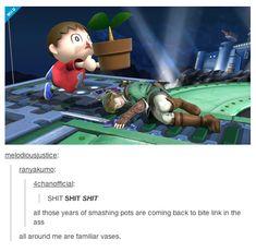 Tumblr, Super Smash Bros., Animal Crossing, Legend of Zelda, and karma
