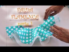 5. Flamenca estilo Marisol - Volantes - YouTube
