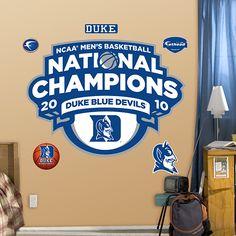 Duke Blue Devils 2010 NCAA Men's Basketball National Champions Logo