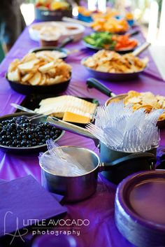 tangled party...serve food in frying pans