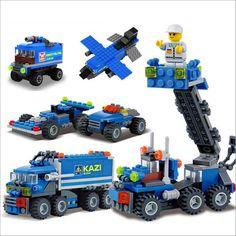 Mejores ventas 163 unids modelo kits de bloques de construcción bloques de construcción camión de transporte 8 formas diy marca de juguetes educativos para niños