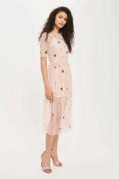 **Nightingale Midi Dress by Lace & Beads
