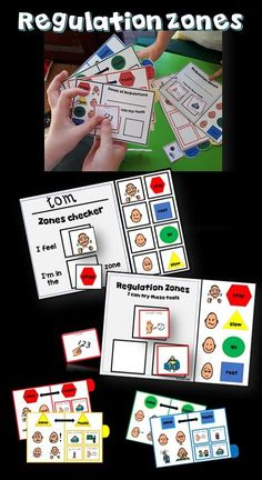 I've created this product to run along with the Zones of Regulations, making tools individually accessible for my students to use in each of the 4 zones.Each of my kiddos have popped their name on a booklet and use the visuals to remind themselves of the positive behaviour needed, with supports and tools if they find themselves wandering out.