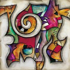 Swirl II by Eric Waugh - Canvas, Wood, Acrylic, Aluminium - ArtToCanvas Oil Painting On Canvas, Canvas Art, Canvas Prints, Art Prints, Big Canvas, Wal Art, Southwest Art, Jewish Art, Art Party