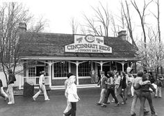 Do you remember this attraction when it was at Kings Island? Summer Memories, My Childhood Memories, Warren County, Kings Island, Thing 1, Zoos, Cincinnati Reds, Amusement Parks, Old Buildings