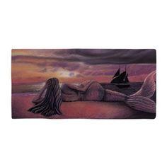 Mermaid Rendezvous Beach Towel
