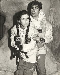 Carrie Fisher's (20) personal out-take photos from Star Wars