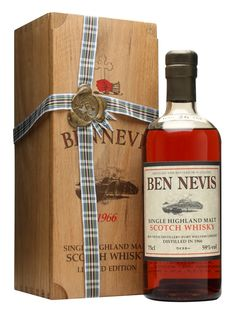 Ben Nevis 1966 / 26 Year Old / Sherry Cask Scotch Whisky : The Whisky Exchange