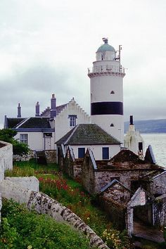 Lighthouse Cloch Point, Schottland
