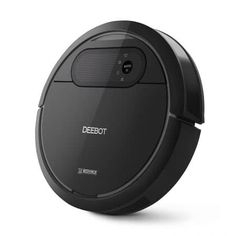 ECOVACS DEEBOT Robotic Vacuum Cleaner, Tangle-free Suction for Pet Hair, Hard Floor - Cleaning Robot - The innovative seamlessly integrates high technology, beautiful appearance and excellent performance into a premium cleaning experience. Vacuum Cleaners, Pet Vacuum, Dancehall Reggae, Car Cleaning, Floor Cleaning, Cleaning Products, Hard Floor, Types Of Flooring, Houses