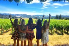 BRIDES Northern California: The Best Wineries in Napa Valley to Host Your Bachelorette Bash