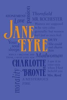 Word Cloud Classics Version of Jane Eyre by Charlotte Brontë (1816-1855) #charlottebronte