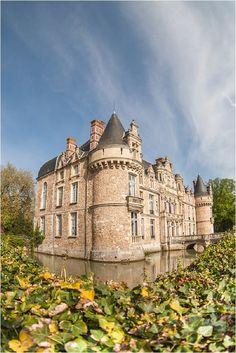 Château d'Esclimont, Bleury-Saint-Symphorien, Maintenon, Chartres, Eure-et-Loir, Centre, France