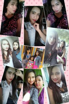 With sister