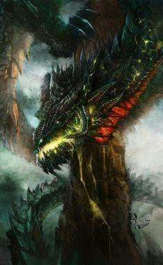 Dragon aterrador