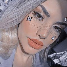Septum Ring, Makeup Looks, Halloween Face Makeup, Instagram, Juki, Girl Celebrities, Disney Princess Pictures, Make Up Looks