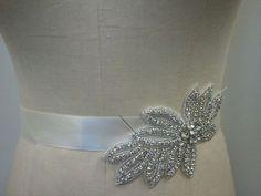 Wedding Belt Bridal Belt Sash Belt by LucyBridalBoutique on Etsy, $38.00