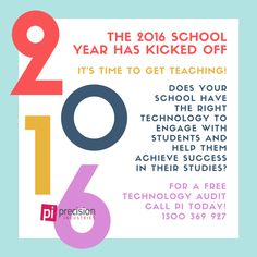 The 2016 school year has kicked off... #backtoschool #precisionindustries #pi #technology #audiovisual #byod