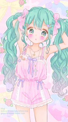 Ideas for flowers girl art kawaii Manga Kawaii, Kawaii Anime Girl, Kawaii Art, Anime Girls, Kawaii Drawings, Cartoon Drawings, Cute Drawings, Kawaii Girl Drawing, Little Girl Drawing