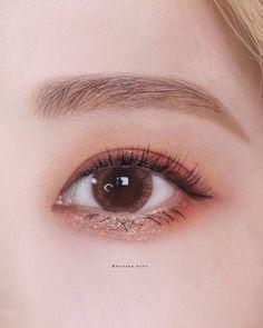 Makeup Goals, Makeup Inspo, Makeup Inspiration, Beauty Makeup, Asian Makeup Looks, Korean Eye Makeup, Ulzzang Makeup, Korean Makeup Tutorials, Korean Make Up