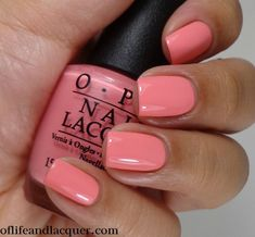 OPI Kiss Me I'm Brazilian | #EssentialBeautySwatches | http://BeautyBay.com