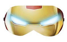 Iron Man Sleep Eye Mask Masks Sleeping Night Blindfold Travel Eye Eyes cover covers patch Cloth sleeping eyes Slumber Eyewear wear Accessory by venderstore on Etsy