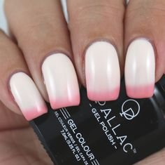 Opallac Gel Polish Strawberries & Cream swatched by Olivia Jade Nails